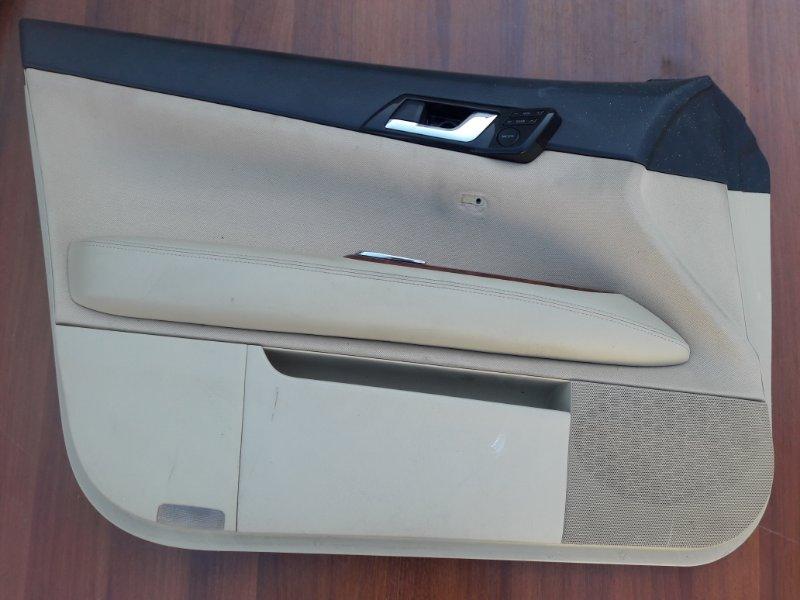 Обшивка дверей Toyota Mark X GRX120 передняя левая