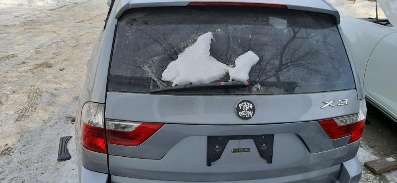Крышка багажника Bmw X3 E83 N52B25 2006 задняя