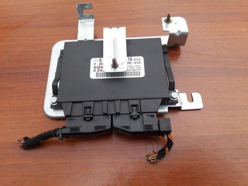 Блок управления парктроником Mercedes Benz 164.186 Ml350 4Matic W164 M272E35 2007