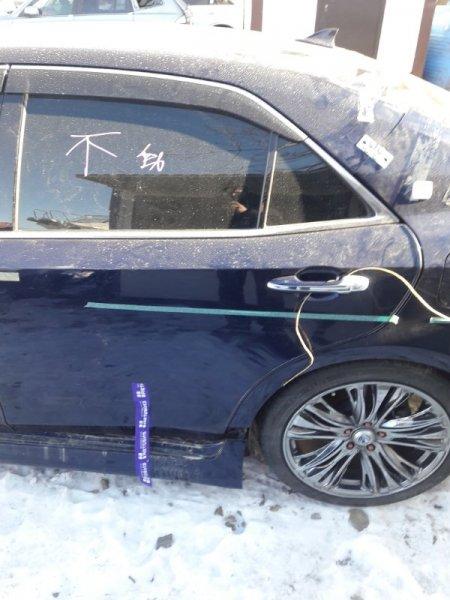 Дверь Toyota Crown AWS210 2015 задняя левая