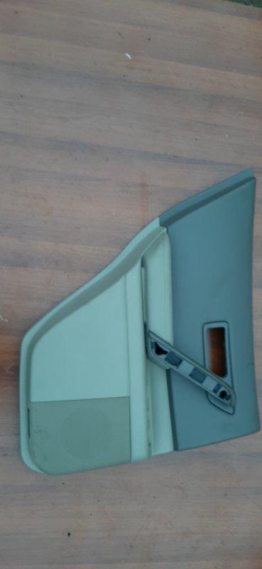 Обшивка двери Infiniti Fx45 Fx35 S50 VK45DE 2004 задняя левая