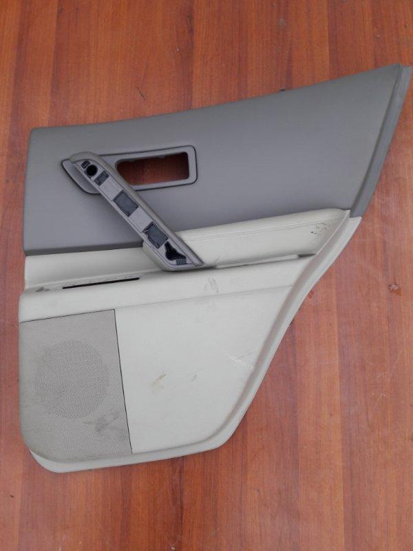Обшивка дверей Infiniti Fx45 Fx35 S50 VK45DE 2004 задняя правая