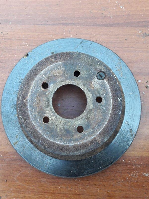 Тормозной диск Infiniti Fx45 Fx35 S50 VK45DE 2004 задний левый