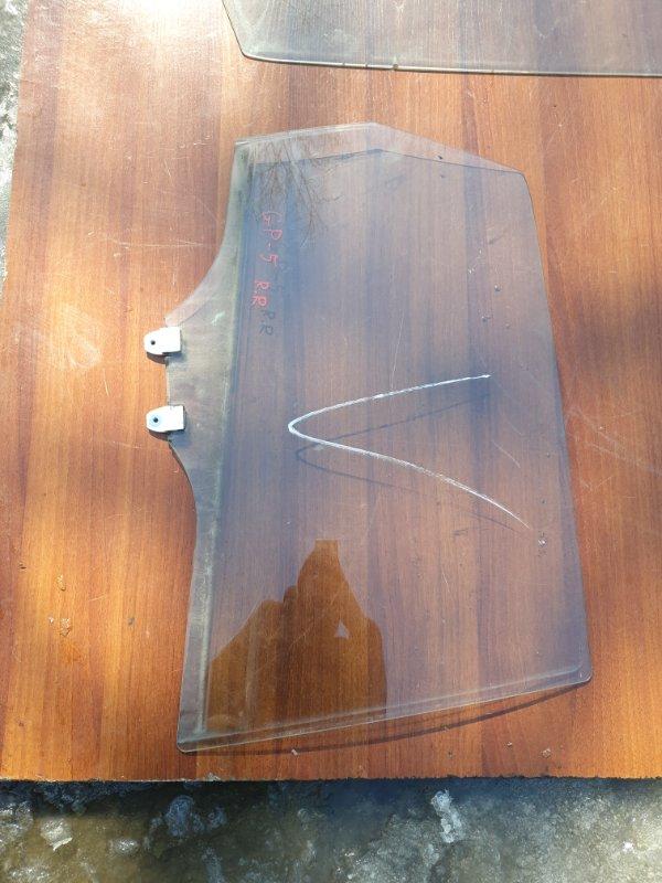 Стекло двери Honda Fit GP5 LEB-3037735 2014 заднее правое