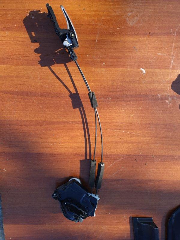 Механизм ручки двери Honda Fit GP5 LEB-3037735 2014 передний правый