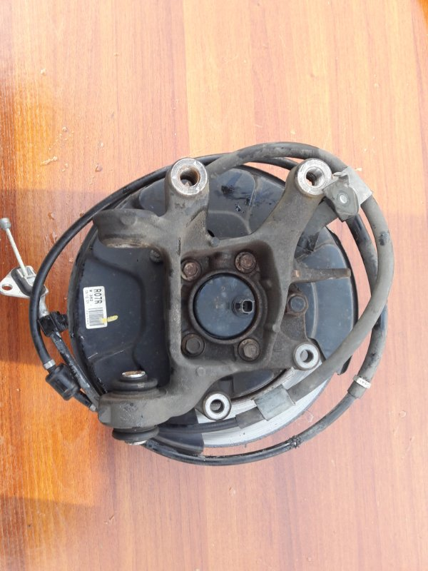 Ступица Toyota Sai AZC10 2AZFXE 2010 задняя правая