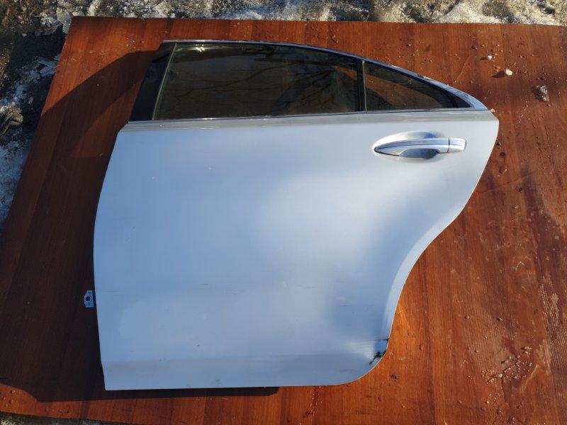 Дверь Toyota Sai AZC10 2AZFXE 2010 задняя левая