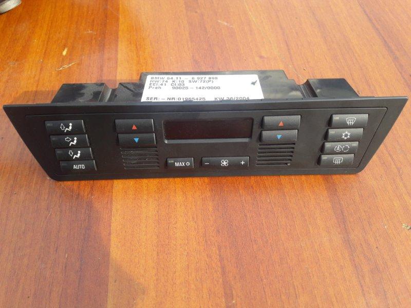 Блок управления климат-контролем Bmw X5 E53 N62B44 2005