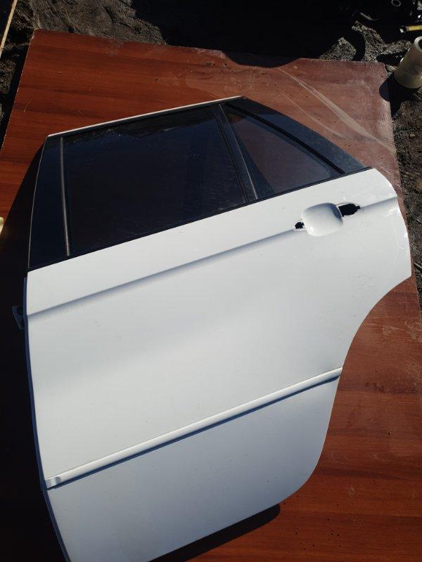 Дверь Bmw X5 E53 N62B44 2006 задняя левая