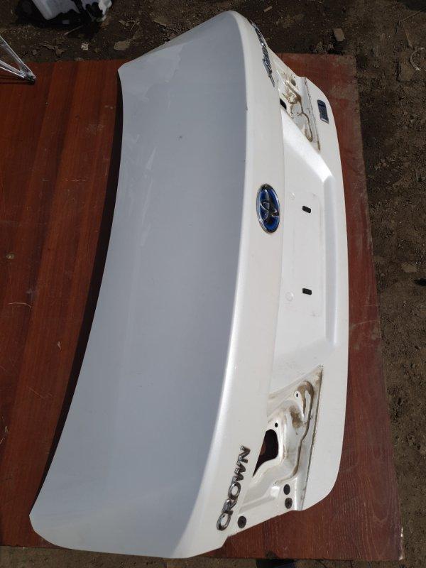 Крышка багажника Toyota Crown AWS210 2ARFSE 2013