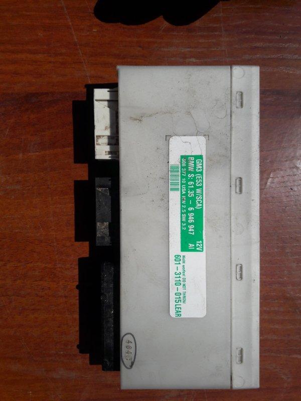 Блок управления комфортом Bmw X5 E53 N62B44 2006