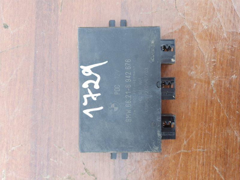 Блок управления парктроником Bmw X5 E53 N62B44 2006