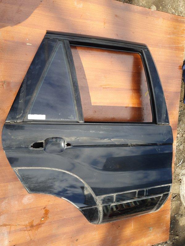 Дверь Bmw X5 E53 M62B44 2001 задняя правая