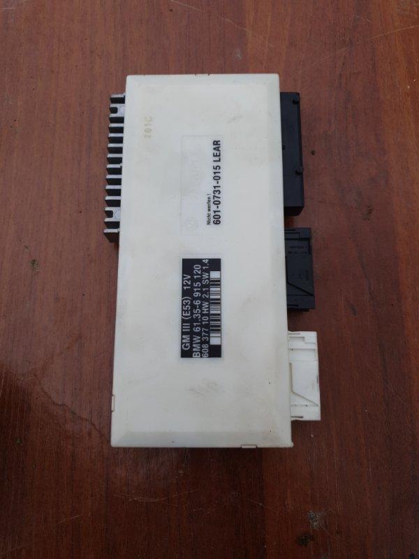 Блок управления комфортом Bmw X5 E53 M62B44 2001