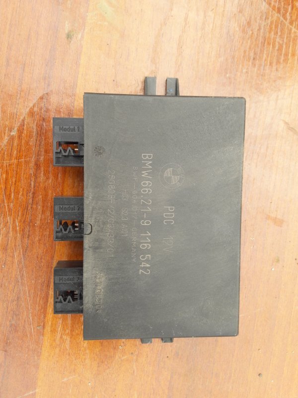 Блок управления парктроником Bmw X3 E83 N52B25 2008