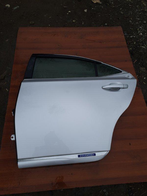 Дверь Lexus Hs250H ANF10 2AZFXE 2011 задняя левая