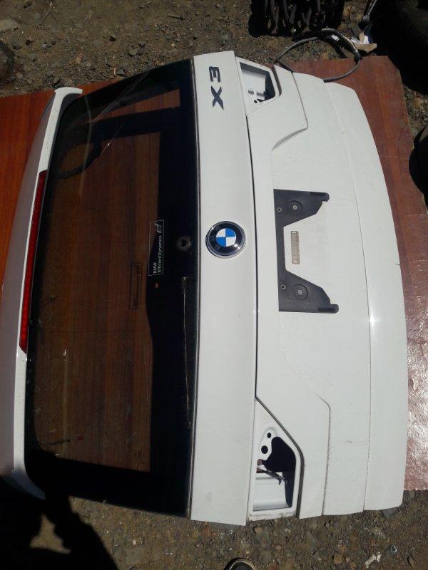 Крышка багажника Bmw X3 E83 N52B25 2008