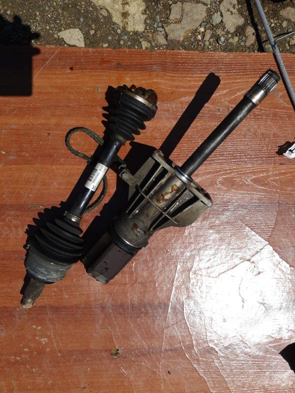 Привод Bmw X3 E83 N52B25 2008 передний правый