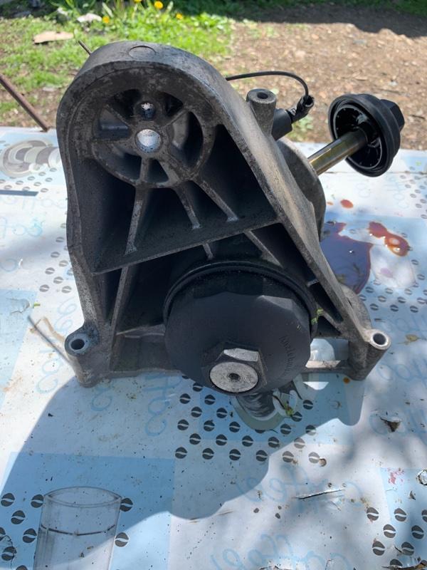 Корпус масляного фильтра Volkswagen Touareg 7LA BMV 2003