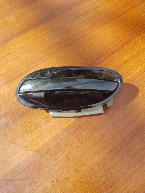 Ручка двери внешняя Bmw 7-Series E65 N62B44A 2003 передняя левая