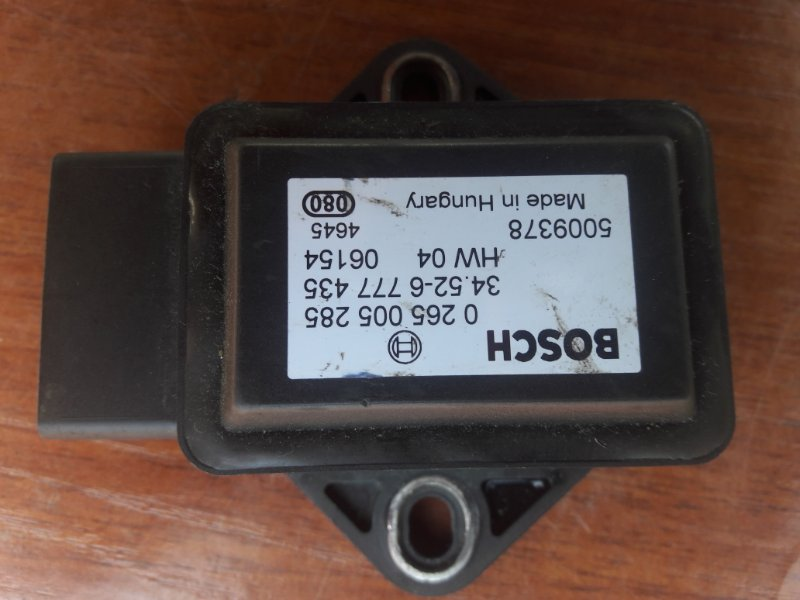 Датчик ускорения Bmw X5 E53 M54B30 2005