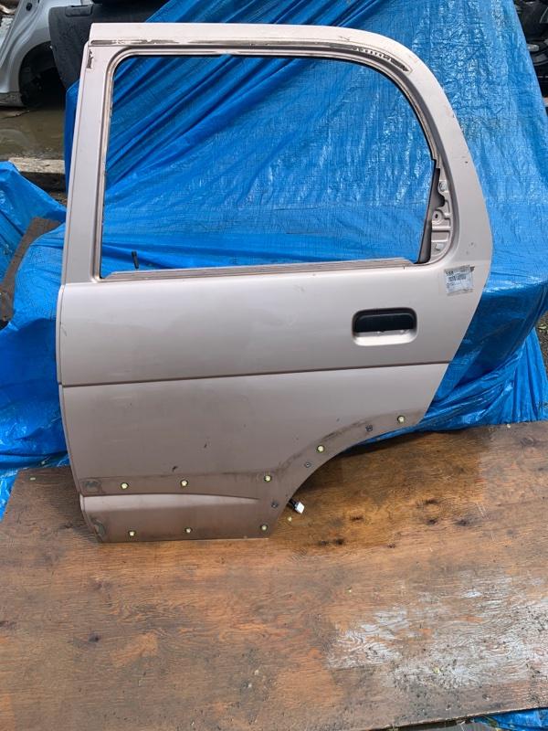 Дверь Toyota Cami J102 K3-VE задняя левая