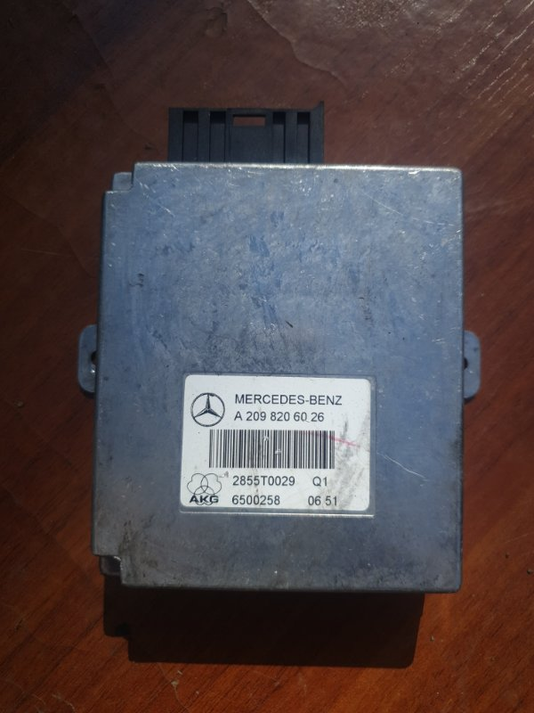 Блок управления громкой связью Mercedes Benz Gl-Class X164 M273E55 2007