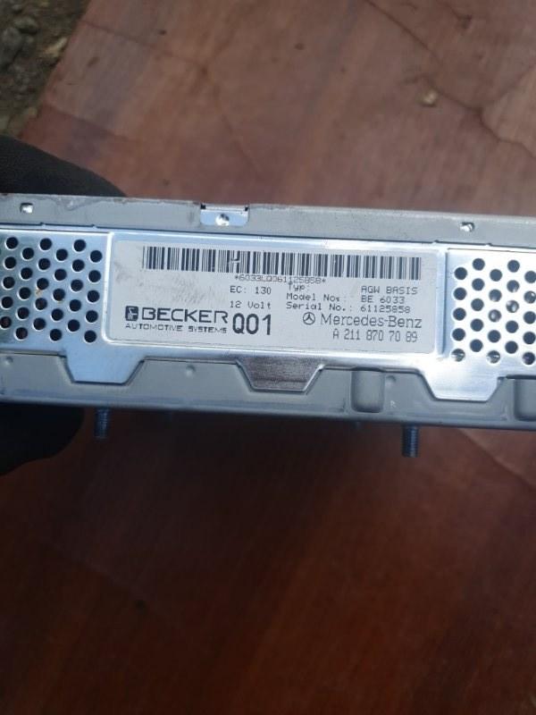 Усилитель аудиосистемы Mercedes Benz Gl-Class X164 M273E55 2007