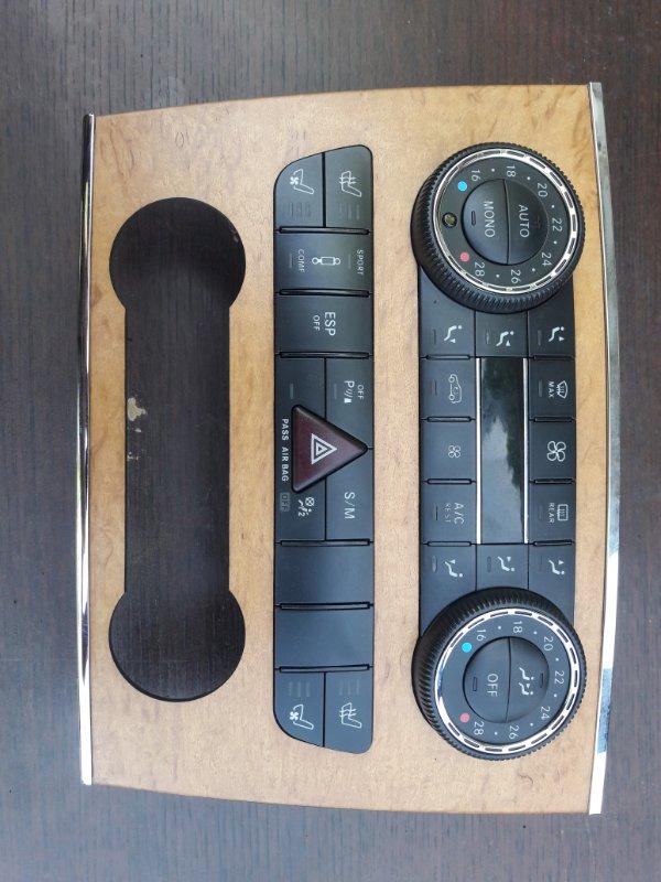 Блок управления климат-контролем Mercedes Benz Gl-Class X164 M273E55 2007