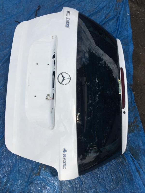Крышка багажника Mercedes Benz 164.186 Ml350 4Matic W164.186 M272E35 2007 задняя