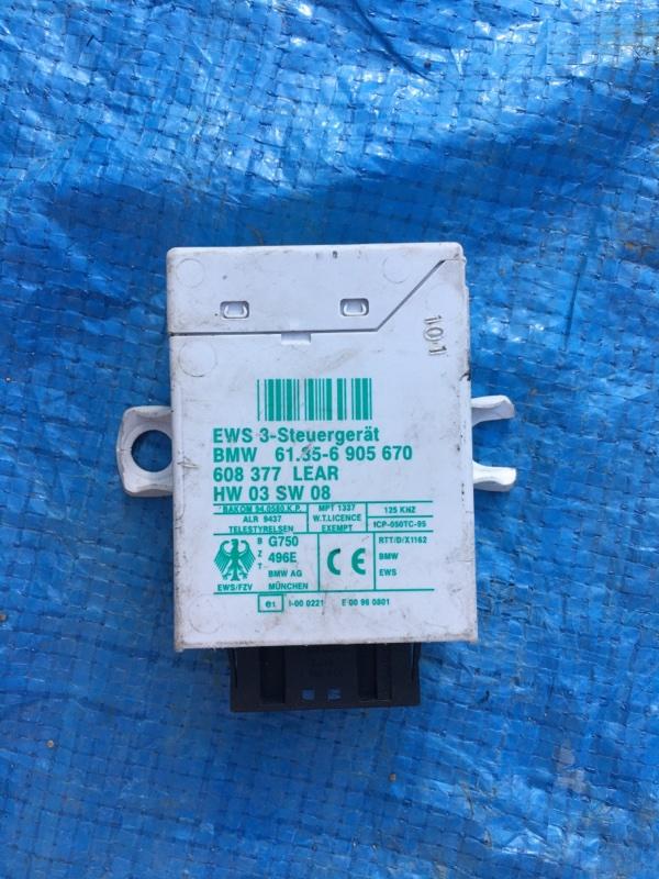 Блок управления имобилайзер Bmw X5 E53 N62B44 2005