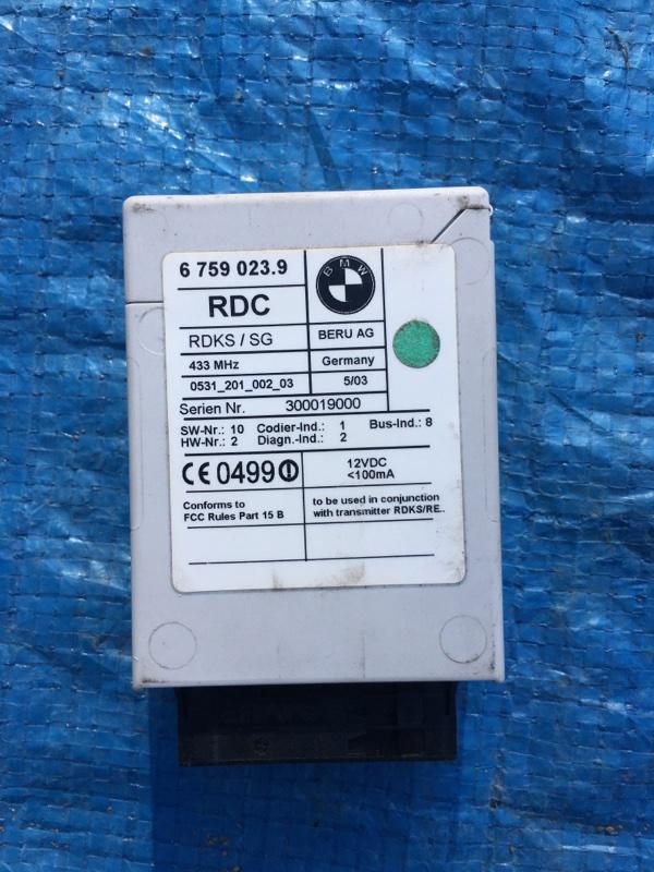 Блок управления комфортом Bmw X5 E53 N62B44 2005