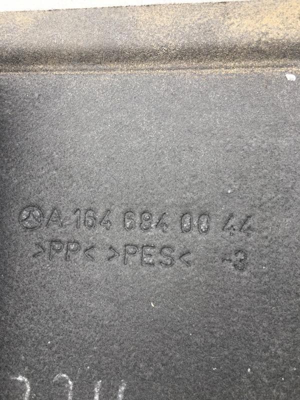 Обшивка багажника Mercedes Benz 164.186 Ml350 4Matic W164.186 M272E35 2007
