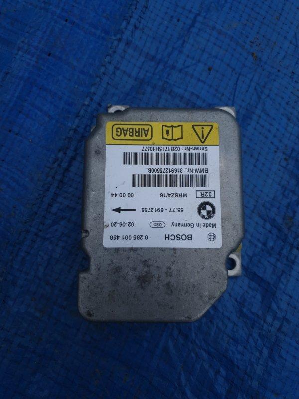 Блок управления airbag Bmw X5 E53 M62B44 2002