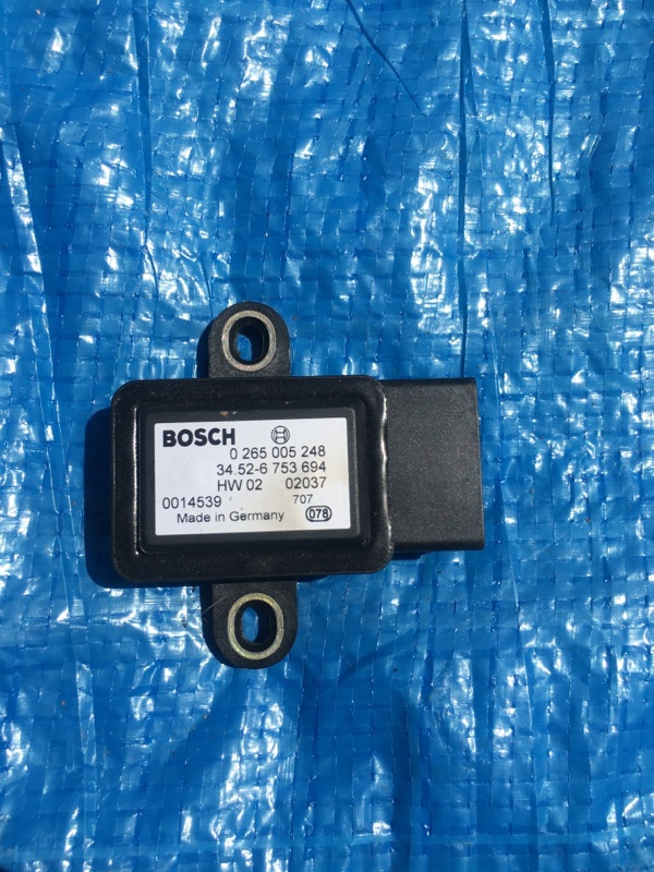 Датчик ускорения Bmw X5 E53 M54B30 2002