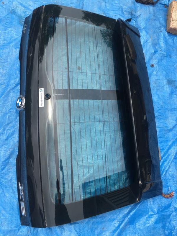 Крышка багажника Bmw X5 E53 M54B30 2002 задняя