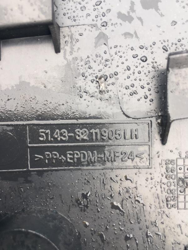Пластик стойки Bmw X5 E53 M62B44 2002 левый