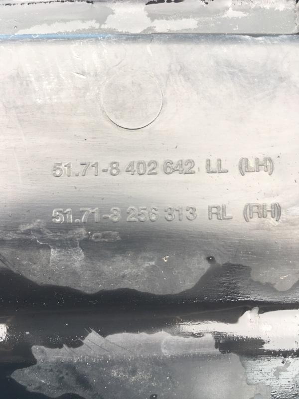 Жабо Bmw X5 E53 M62B44 2002 переднее