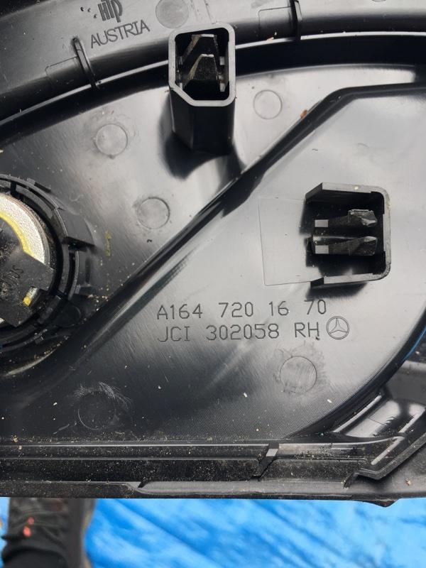 Накладка Mercedes Benz 164.186 Ml350 4Matic W164.186 M272E35 2007 передняя правая
