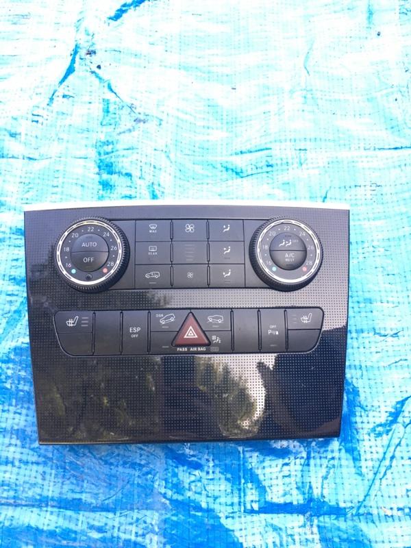 Блок управления климат-контролем Mercedes Benz 164.186 Ml350 4Matic W164.186 M272E35 2007