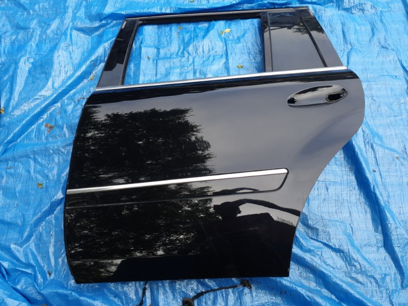 Дверь Mercedes Benz Gl-Class X164 M273E55 2007 задняя левая
