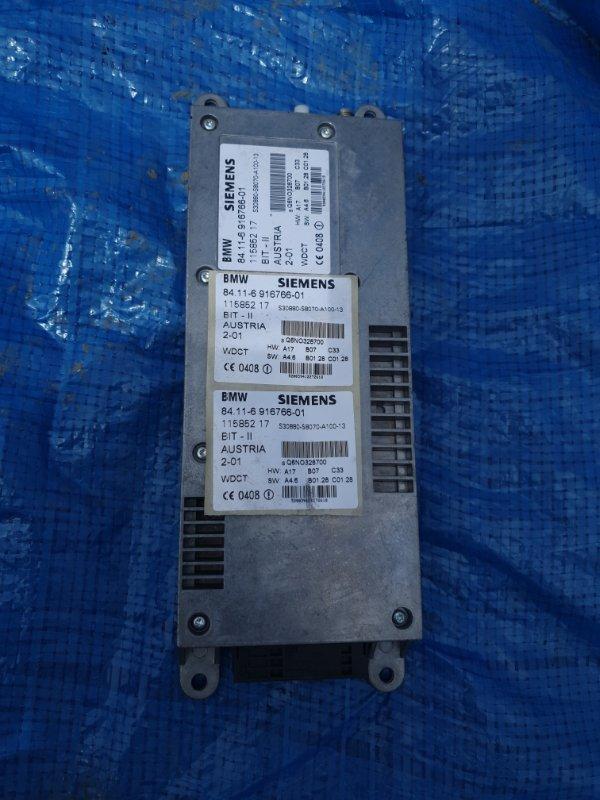 Блок управления телефоном Bmw X5 E53 M62B46 2001