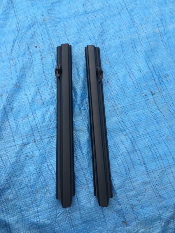 Шторка форточки Bmw X5 E53 M62B46 2001 задняя
