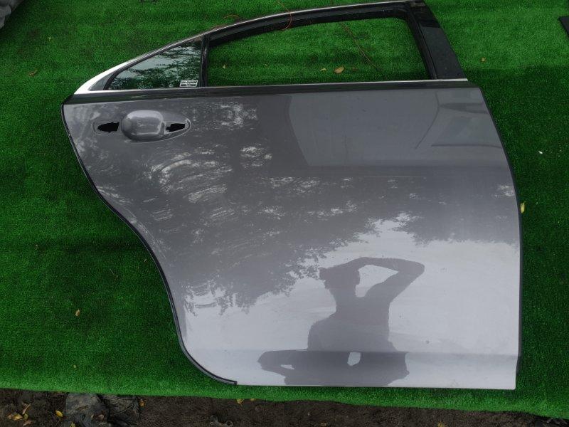 Дверь Toyota Sai AZC10 2AZFXE 2015 задняя правая