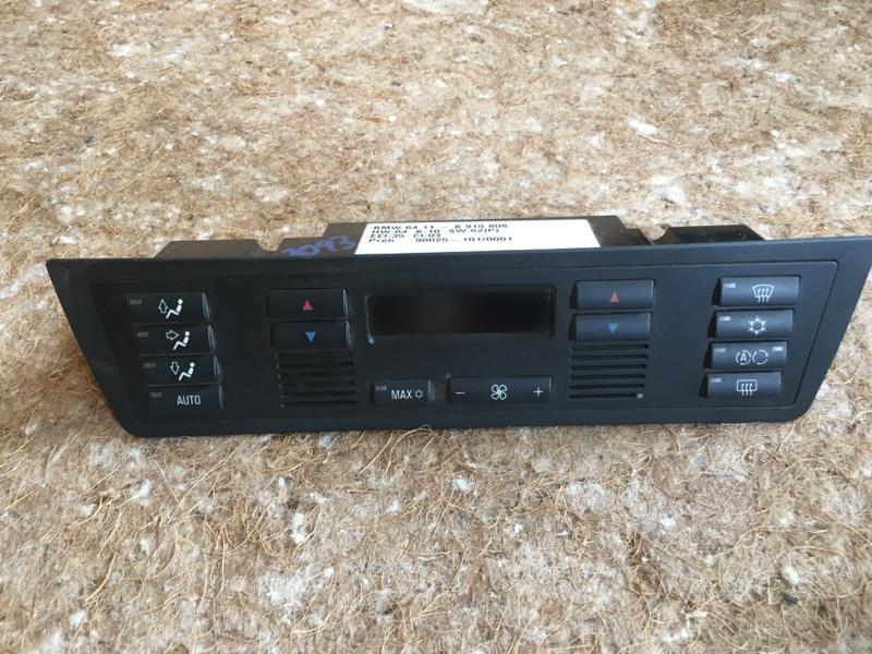 Блок управления климат-контролем Bmw X5 E53 M62B46 2001