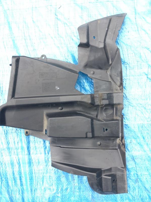 Защита двигателя X5 E53 M54B30 2005 правая