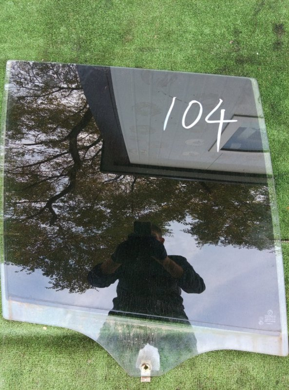 Стекло двери Bmw X5 E53 M54B30 2005 заднее правое
