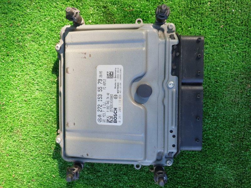 Блок управления двигателем Mercedes Benz 164.186 Ml350 4Matic W164.186 M272E35 2006