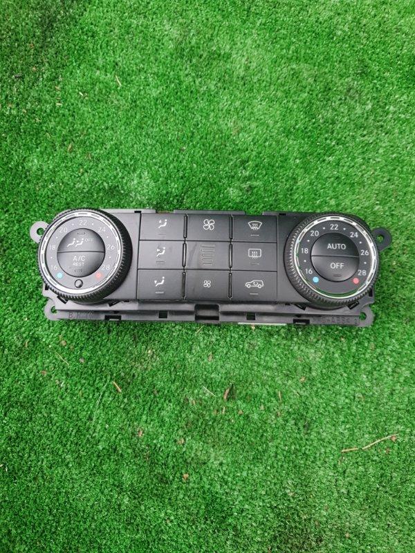 Блок управления климат-контролем Mercedes Benz 164.186 Ml350 4Matic W164.186 M272E35 2006