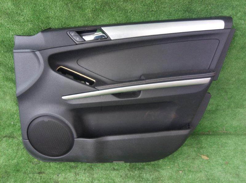 Обшивка двери Mercedes Benz 164.186 Ml350 4Matic W164.186 M272E35 2006 передняя правая